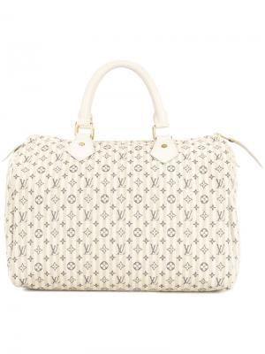 Сумка-тоут Speedy 30 Louis Vuitton Vintage. Цвет: телесный