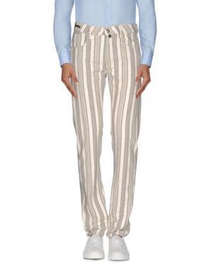 Повседневные брюки PT05. Цвет: слоновая кость