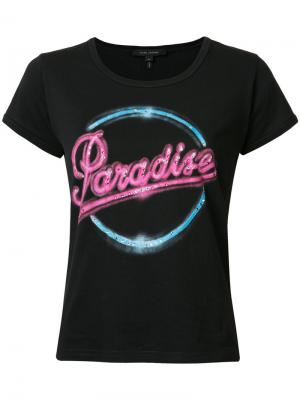 Футболка Paradise 70s Marc Jacobs. Цвет: чёрный