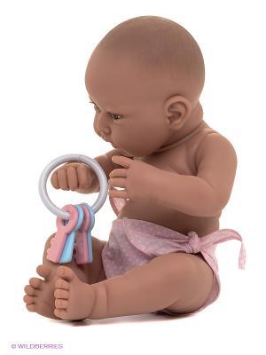 Кукла-младенец Ирена, 42 см Antonio Juan. Цвет: бледно-розовый