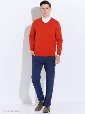 Пуловер Men of all nations. Цвет: красный