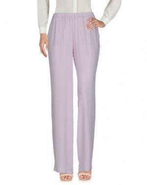 Повседневные брюки 1-ONE. Цвет: розовый