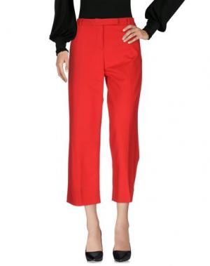 Повседневные брюки BLUKEY. Цвет: красный