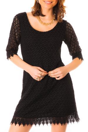 Платье LES GAMINES DE PARIS. Цвет: черный
