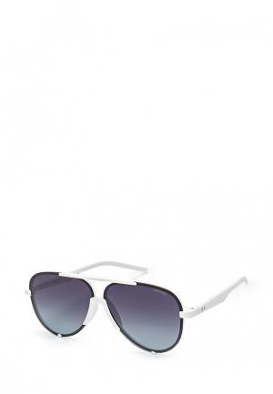 Очки солнцезащитные Polaroid. Цвет: белый