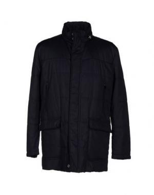 Пальто MABRUN. Цвет: темно-синий