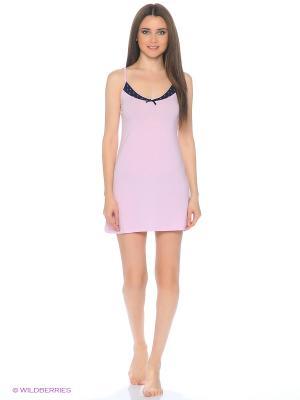 Ночная сорочка Modis. Цвет: бледно-розовый