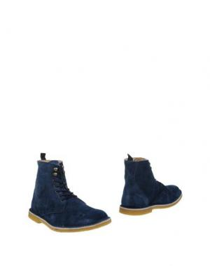 Полусапоги и высокие ботинки PIERRE DARRÉ. Цвет: темно-синий