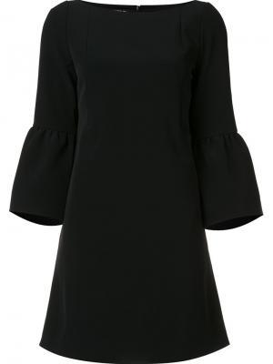 Расклешенное платье Lafayette 148. Цвет: чёрный