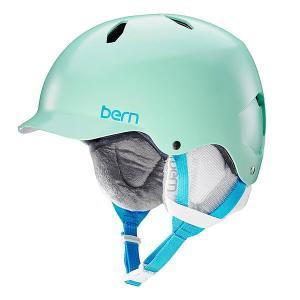 Шлем для сноуборда детский  Bandita Satin Mint Green/White Cordova Liner Bern. Цвет: зеленый,белый