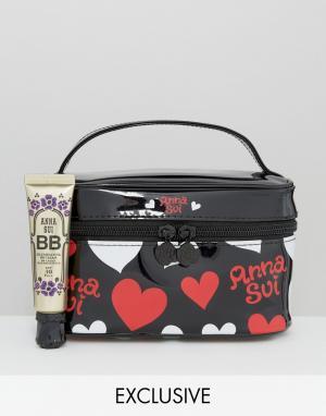 Anna Sui BB-крем для сияния кожи с косметичкой в подарок эксклюзивно д. Цвет: бесцветный