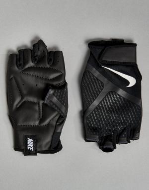 Nike Training Черные перчатки Renegade LG.B5-031. Цвет: черный