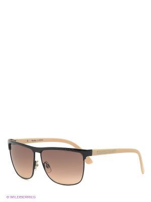 Солнцезащитные очки MS 01-187 64 Mario Rossi. Цвет: черный, бежевый