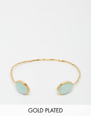 Taara Jewellery Позолоченный браслет. Цвет: золотой