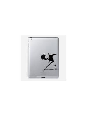 Наклейка для iPad 2/3/4 Rowdy Kawaii Factory. Цвет: черный