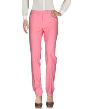 Повседневные брюки INDRESS. Цвет: светло-фиолетовый
