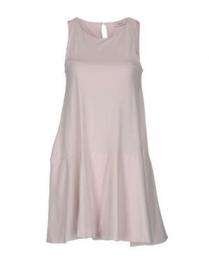 Короткое платье ALPHA STUDIO. Цвет: розовый