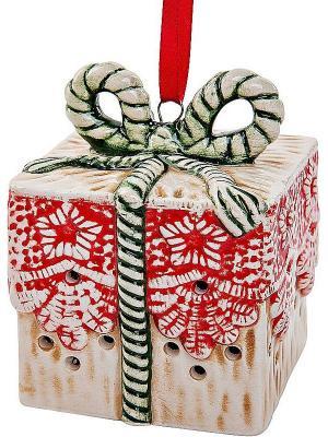 Украшение Mister Christmas. Цвет: белый