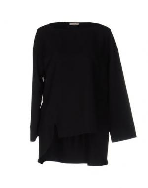 Блузка DEVOTION. Цвет: черный