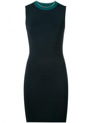 Приталенное платье Rag & Bone. Цвет: синий