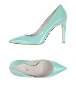 Туфли DEIMILLE. Цвет: светло-зеленый