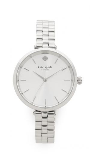 Часы Holland с узким ремешком Kate Spade New York