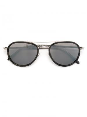 Солнцезащитные очки авиаторы Paul & Joe. Цвет: чёрный