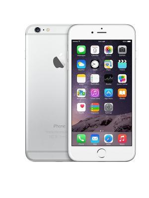 Смартфон Apple IPHONE 6 PLUS SILVER 16GB. Цвет: серебристый