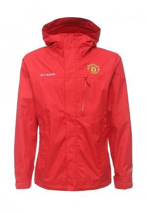Куртка Columbia. Цвет: красный