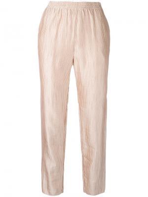 Cropped trousers Forte. Цвет: розовый и фиолетовый