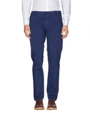Повседневные брюки DEPARTMENT 5. Цвет: ярко-синий