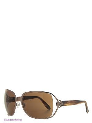 Солнцезащитные очки PR 6014 160 PACO RABANNE. Цвет: коричневый