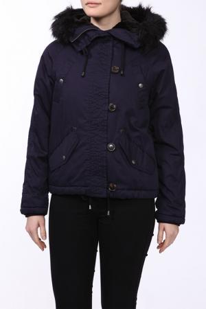 Куртка Marks & Spencer. Цвет: темно-синий