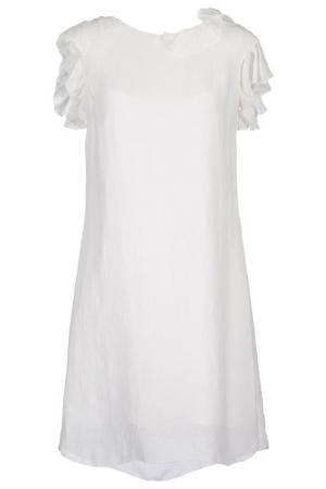Платье KRISTINA TI. Цвет: белый