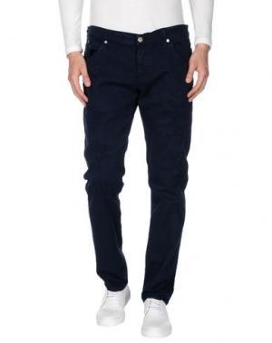 Джинсовые брюки DONDUP. Цвет: темно-синий