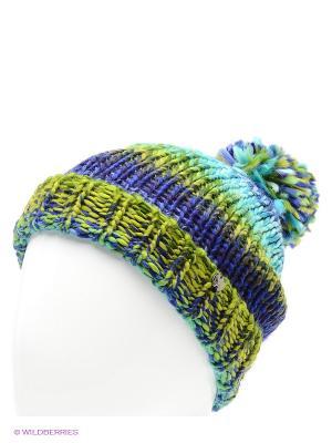 Шапка CMP. Цвет: зеленый, голубой, синий