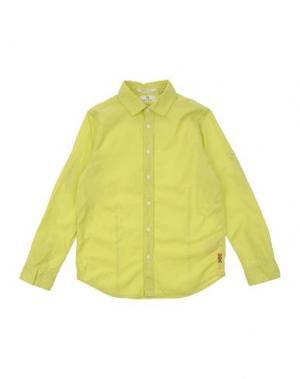 Pубашка SCOTCH & SHRUNK. Цвет: кислотно-зеленый