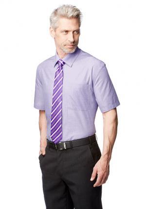 Рубашка (комплект из 2-х предметов), с галстуком Otto. Цвет: фиолетовый