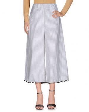 Повседневные брюки HC HOLY CAFTAN. Цвет: белый