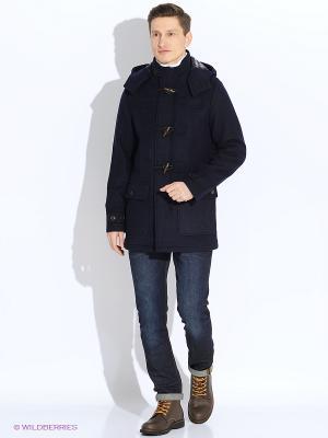 Пальто MERC. Цвет: синий
