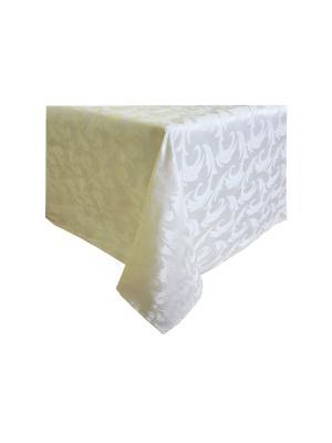 Скатерть Версаль Teflon T&I. Цвет: белый