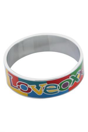 Браслет OXXO design. Цвет: серебряный, разноцветный