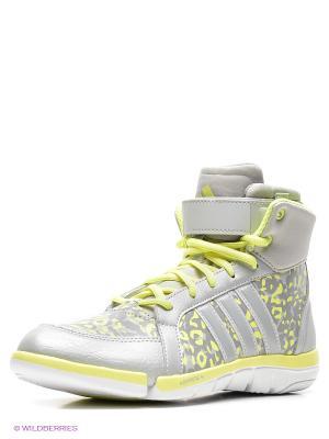Кроссовки Iriya Adidas. Цвет: серый, голубой