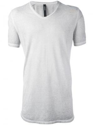 Перфорированная футболка ziggy Tom Rebl. Цвет: серый