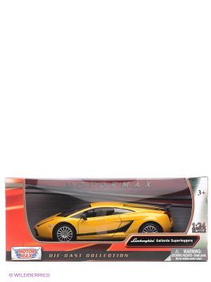 Машинка коллекционная Laмborghini Gallardo Superleggera в масштабе 1к24 Motormax. Цвет: желтый