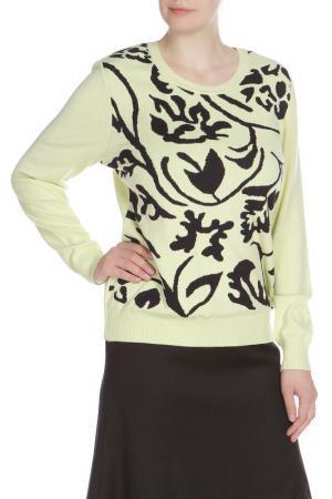 Пуловер Eugen Klein. Цвет: лимонно-черный