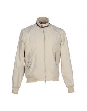 Куртка JOHNNY LAMBS. Цвет: бежевый