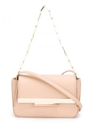 Colt miniature shoulder bag Eddie Borgo. Цвет: розовый и фиолетовый
