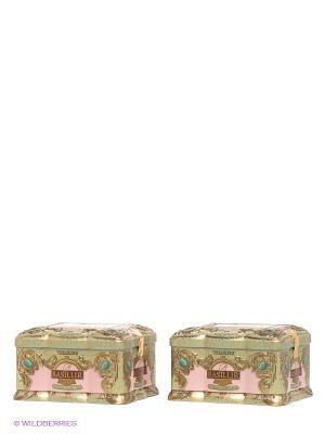 Чай Basilur. Цвет: зеленый, бледно-розовый