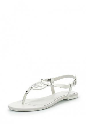 Сандалии Armani Jeans. Цвет: белый